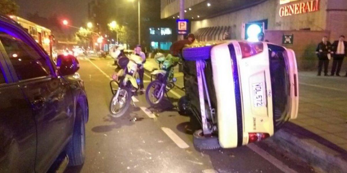 Grave accidente en la Carrera 7 genera caos vehicular