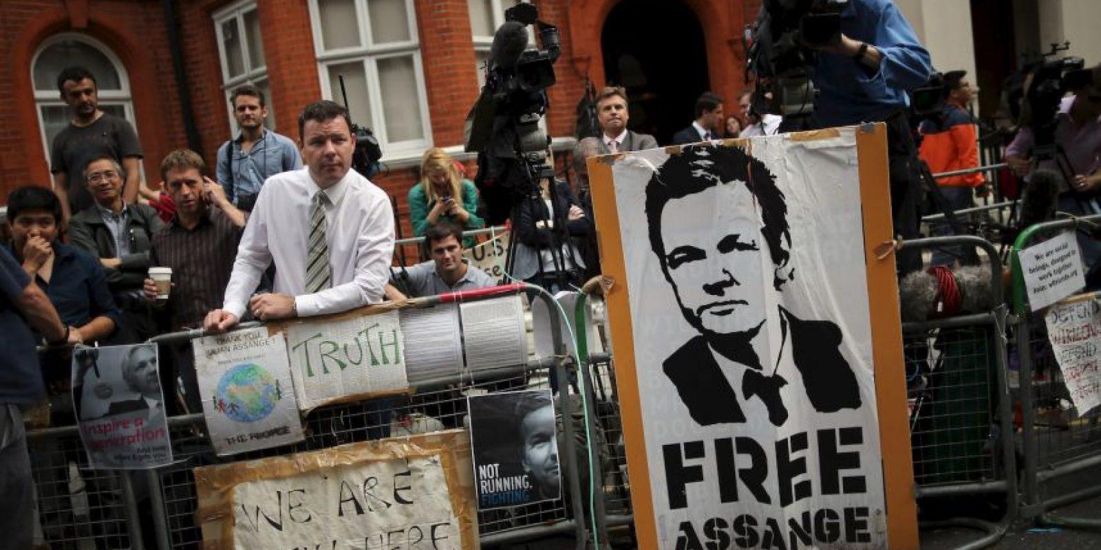 La organización señala de ilegal la detención por parte de Suecia. Foto:Getty Images