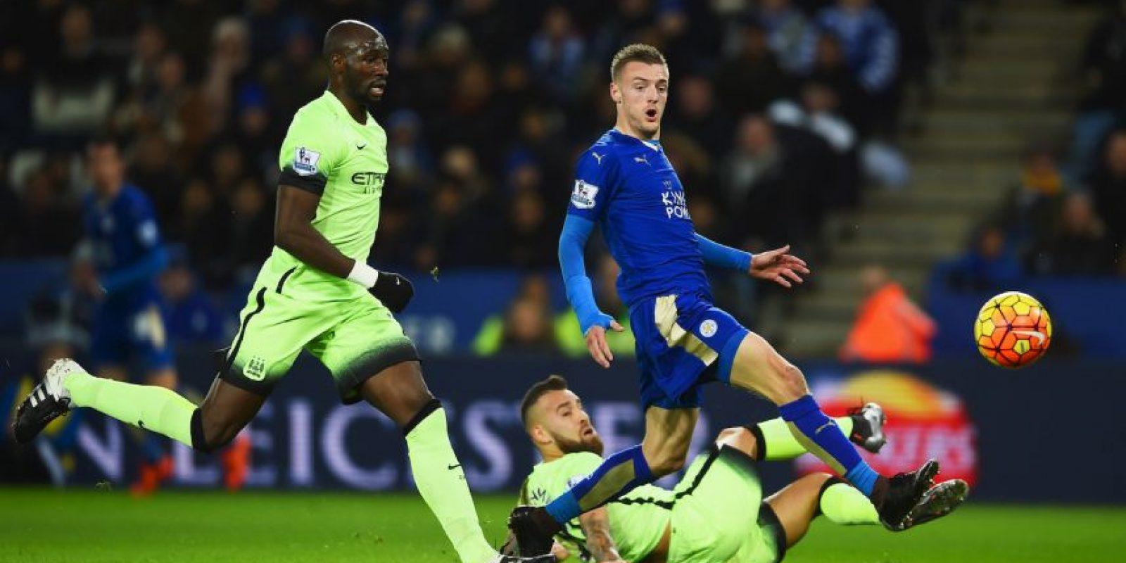 Manchester City vs. Leicester City Foto:Getty Images