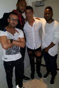 "1. Un hombre de nombre ""Yago"" publicó esta foto de Cristiano Ronaldo. Foto:Vía twitter.com/yago"