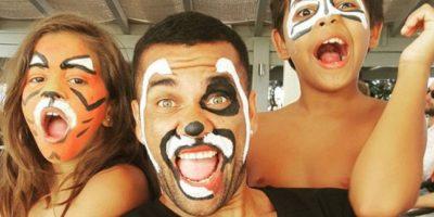 10. De oso panda, como Dani Alves. Foto:danialves.com