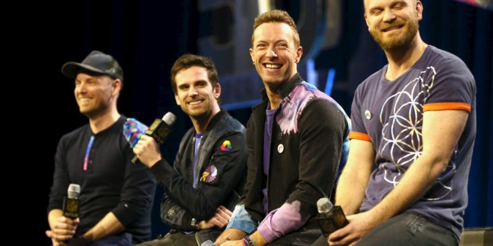 La banda británica Coldplay será la encargada del medio tiempo del Super Bowl 50. Foto:Getty Images