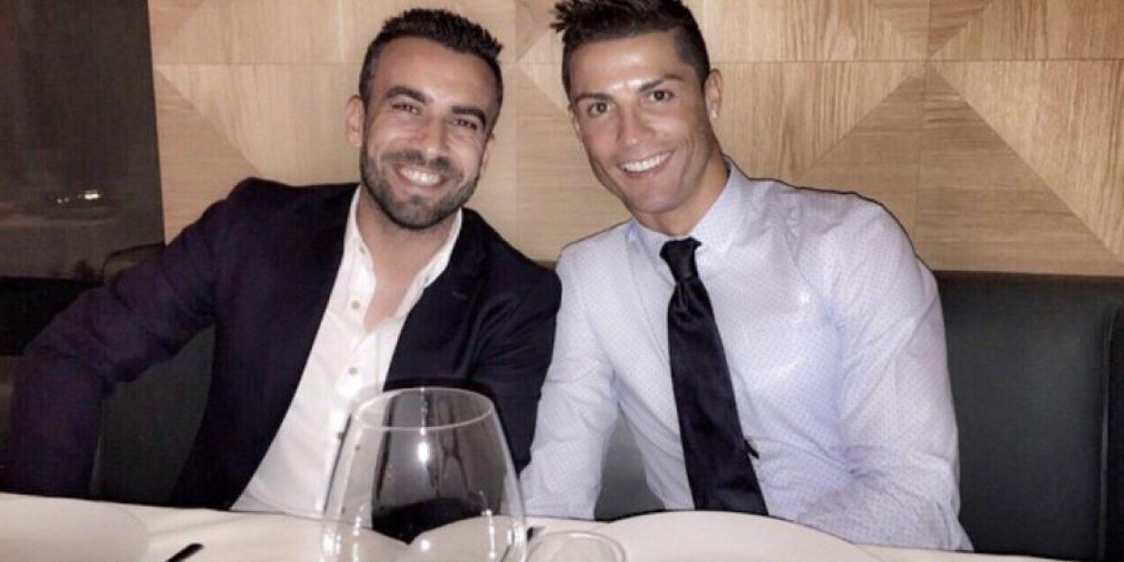 Es considerado un elemento más de su familia y además, fue uno de los principales apoyos del portugués cuando este rompió con Irina Shayk. Foto:Vía instagram.com/cristiano
