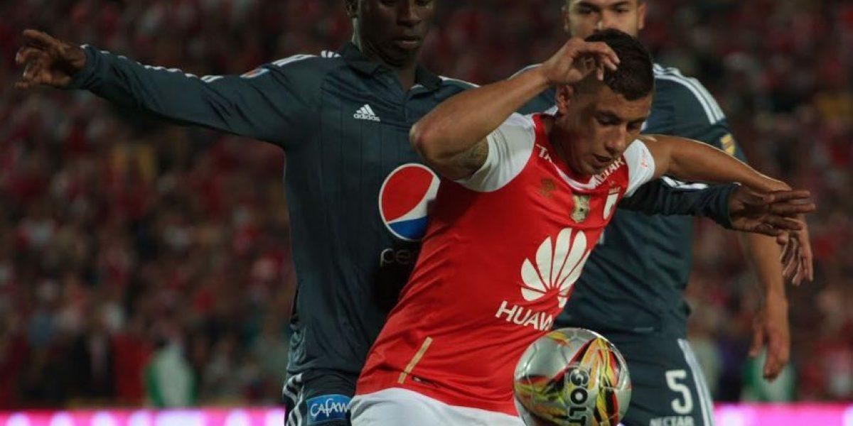 Pálido empate entre Santa Fe y Millonarios en el primer clásico del 2016