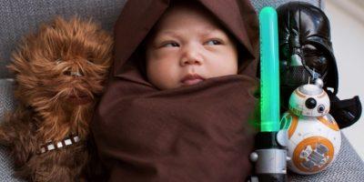 """Max al estilo """"Star Wars"""". Foto:Vía facebook.com/zuck"""