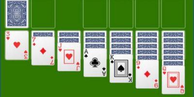Se trata de un juego de cartas que se gana al mover todas las cartas de una baraja al cuadro a los pilotes de cimentación. Tenía diferentes dificultades y, si ganaban, celebraban con fuegos artificiales. Foto:Vía Tumblr.com