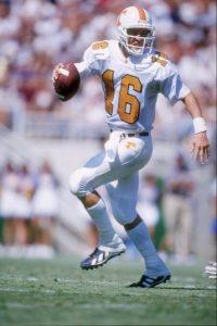 Así lucía Peyton Manning en su etapa colegial en 1994 Foto:Getty Images