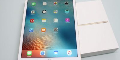 iPad Pro en vertical. Foto:Nicolás Corte