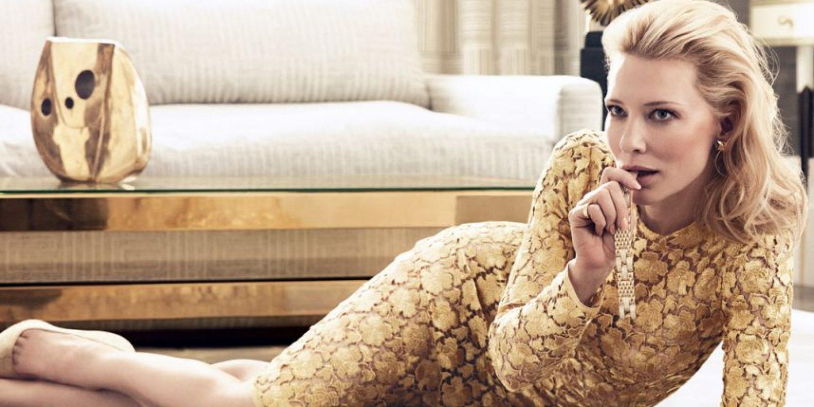 Cate Blanchett comenzó en la actuación en 1994. Foto:vía Vogue