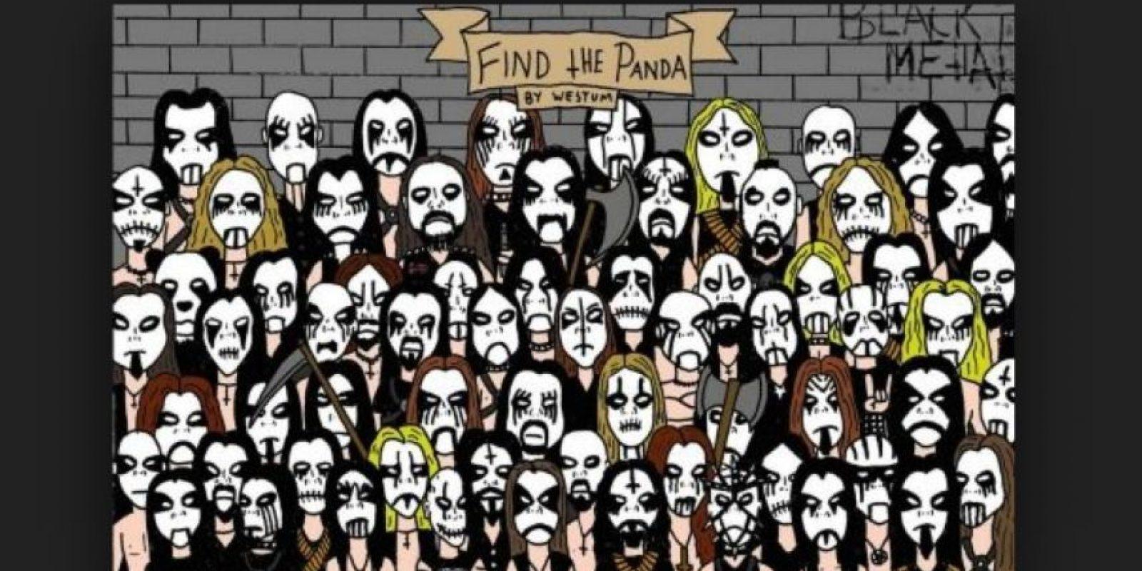 ¿Dónde está el panda metalero? Foto:Vía Twitter