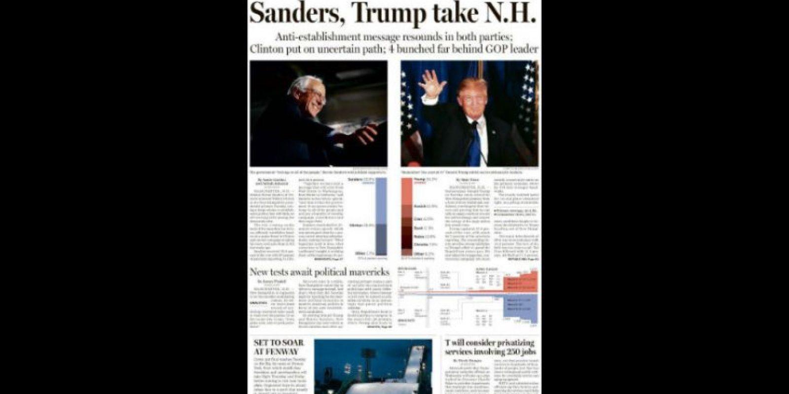 Luego de pasar por las primarias de Iowa y New Hampshire, los precandidatos de ambos partidos continuarán enfrentándose en otros estados Foto:The Boston Globe