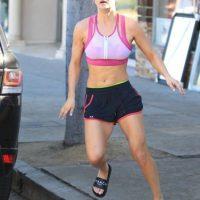 """""""Me encanta estar tonificada y tener músculos"""", compartió la actriz. Foto:Grosby Group"""