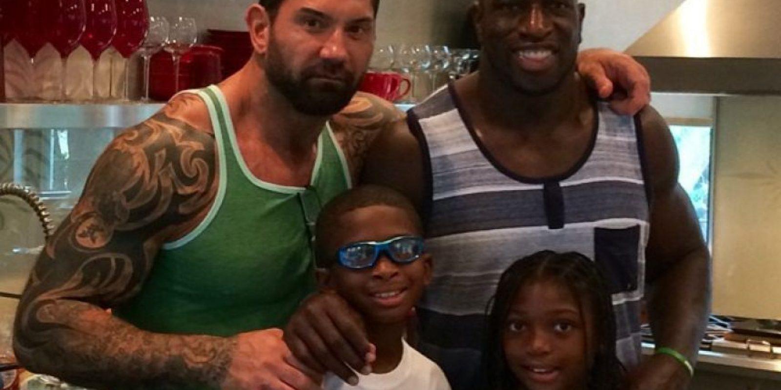 Es amigo de Batista Foto:WWE