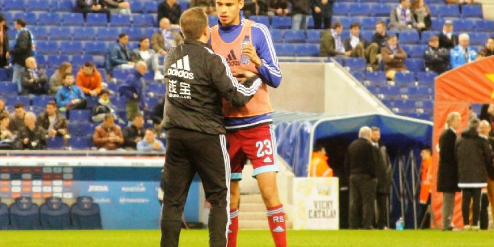 Diego Reyes regresó a la titularidad de la Real Sociedad después de casi dos meses Foto:Ramón Mompió