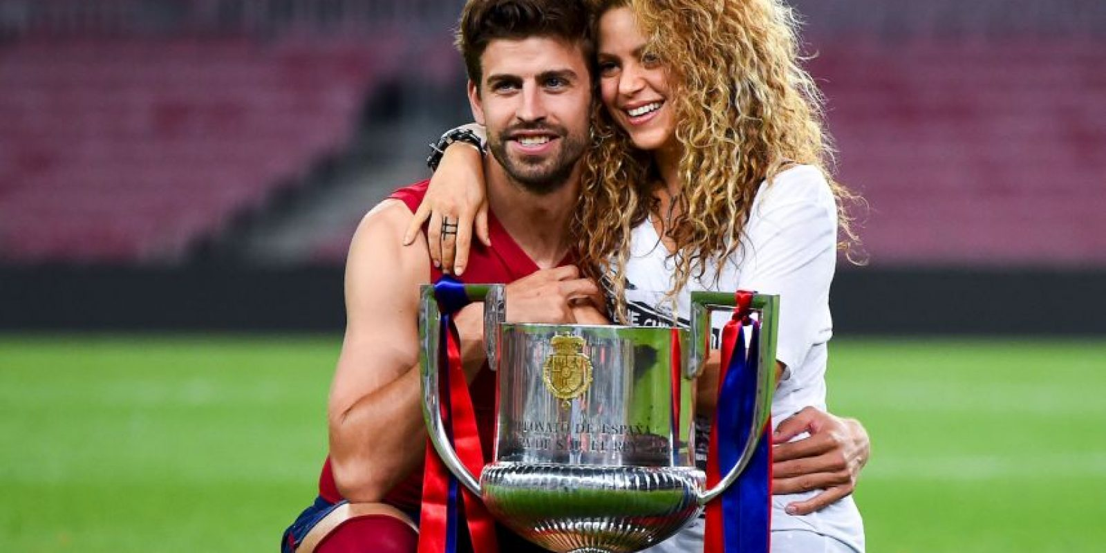 Gerard Piqué y Shakira Foto: Getty Images
