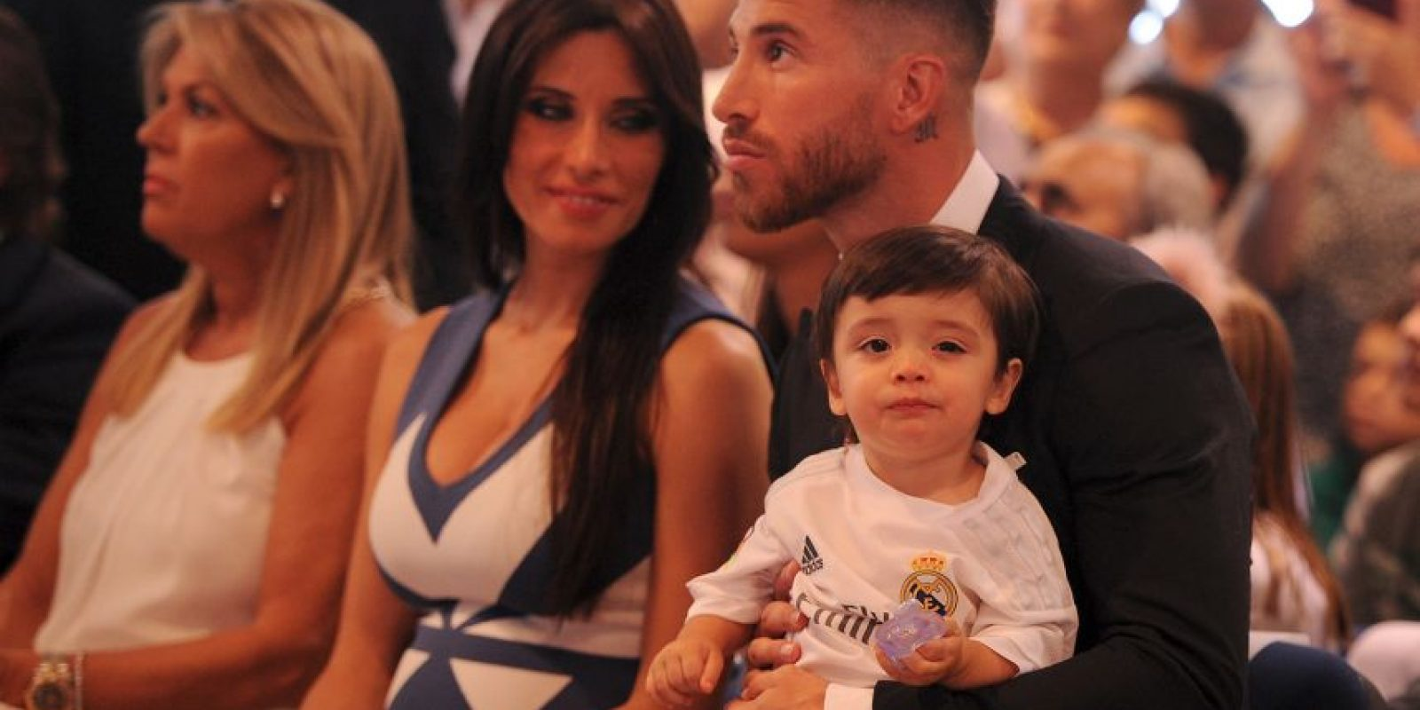 Sergio Ramos (29 años) y Pilar Rubio (37 años) Foto:Getty Images