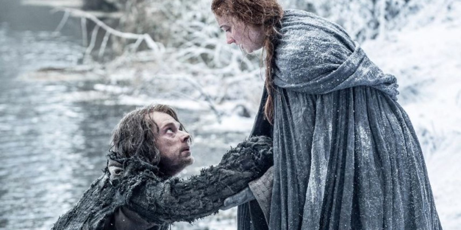 Theon Greyjoy huyó con Sansa Stark. ¿Qué les espera? Foto: Vía Facebook/Game of Thrones