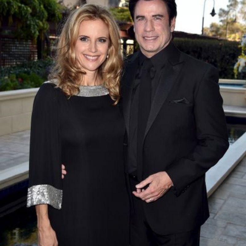 John Travolta y Kelly Preston Foto:Getty Images
