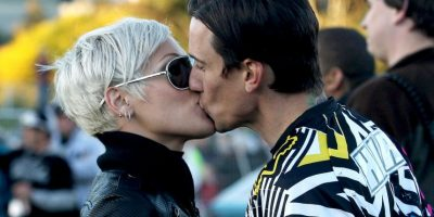 Pink y Carey Hart Foto: Getty Images