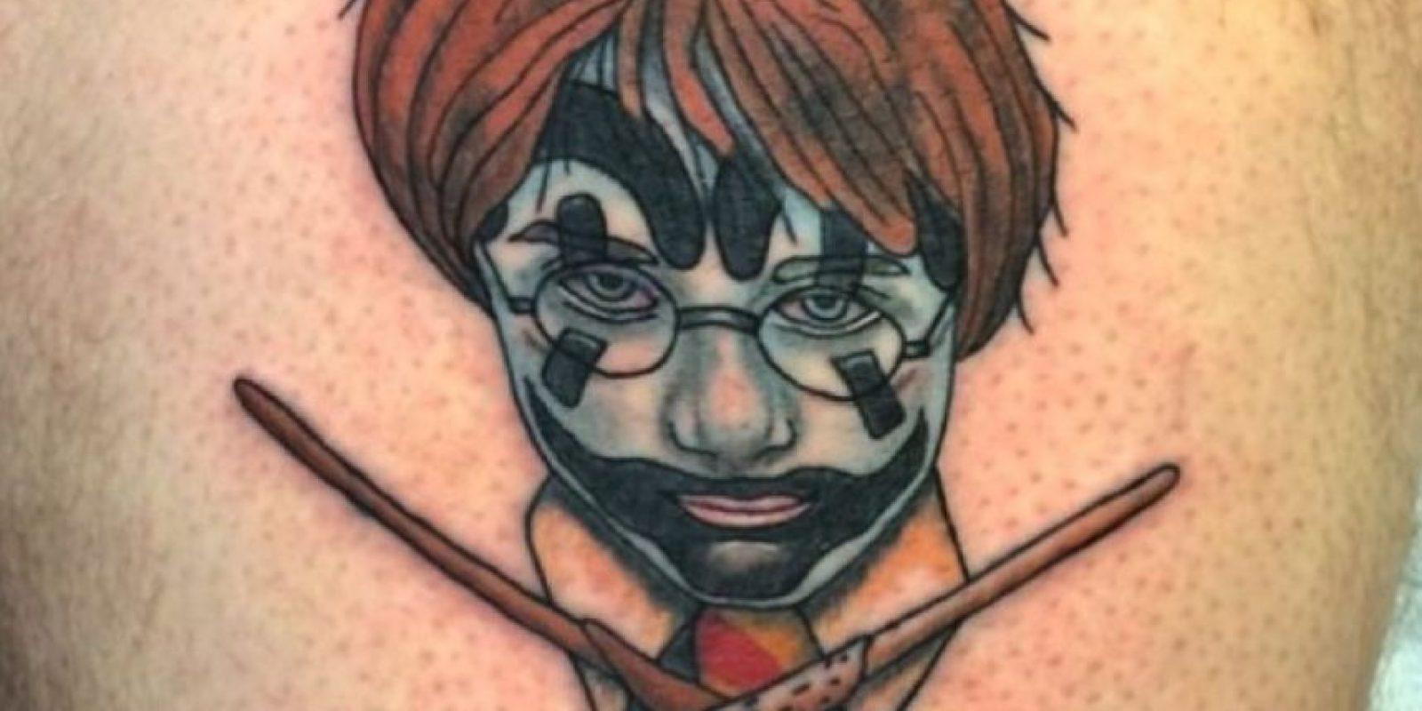 """""""Harry Potter"""" Foto:vía instagram.com/daveycxc"""