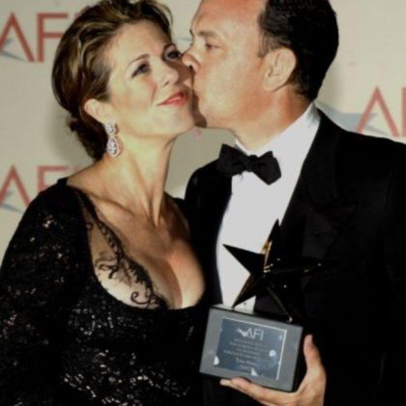 7- Tom Hanks y Rita Wilson. Foto:Getty Images