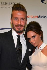 Victoria y David Beckham Foto:Getty Images