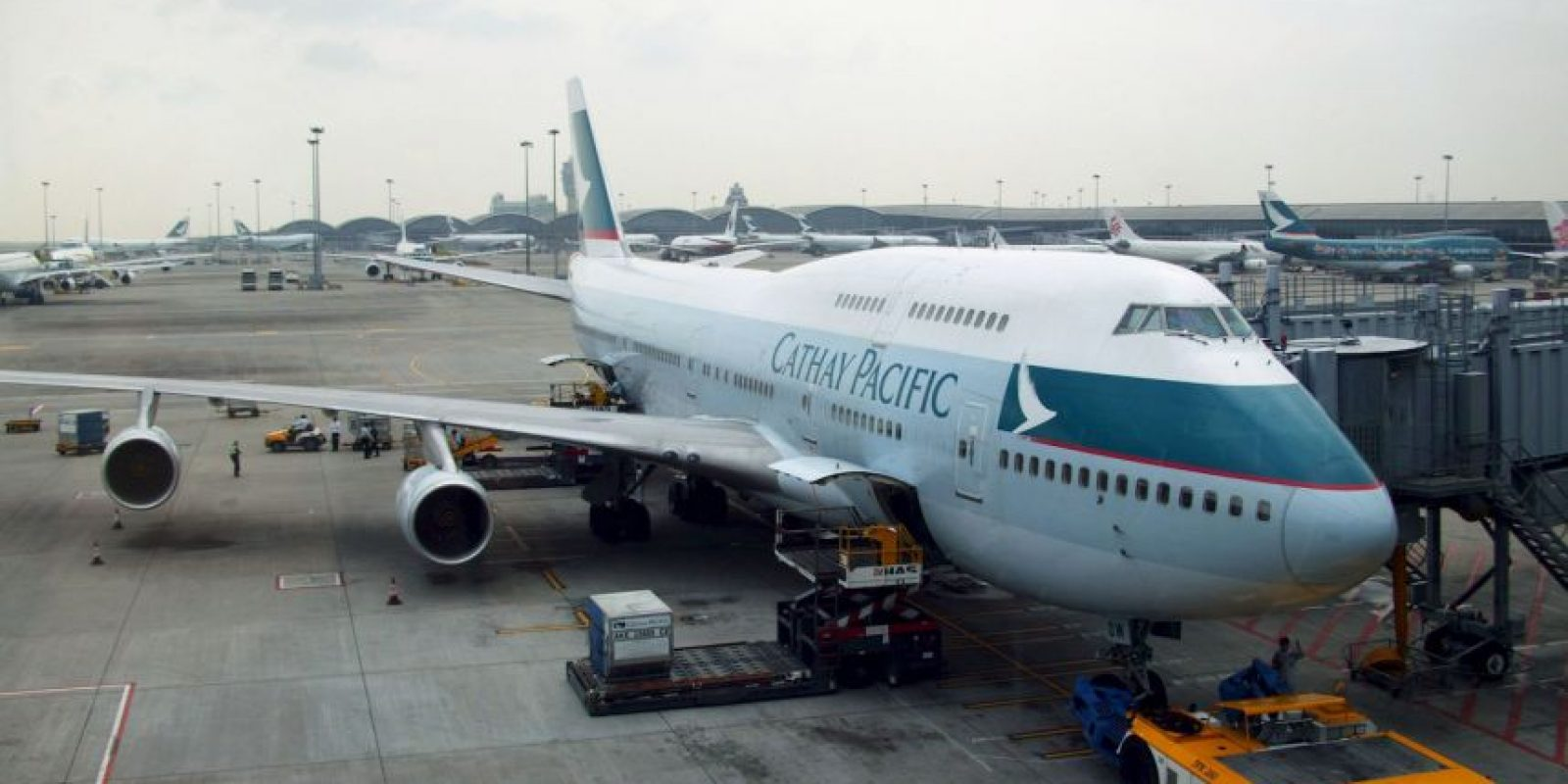 Cathay Pacific Airways-Hong Kong Foto:Getty Images