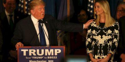 Donald Trump e Ivanka Trump Foto:Getty Images