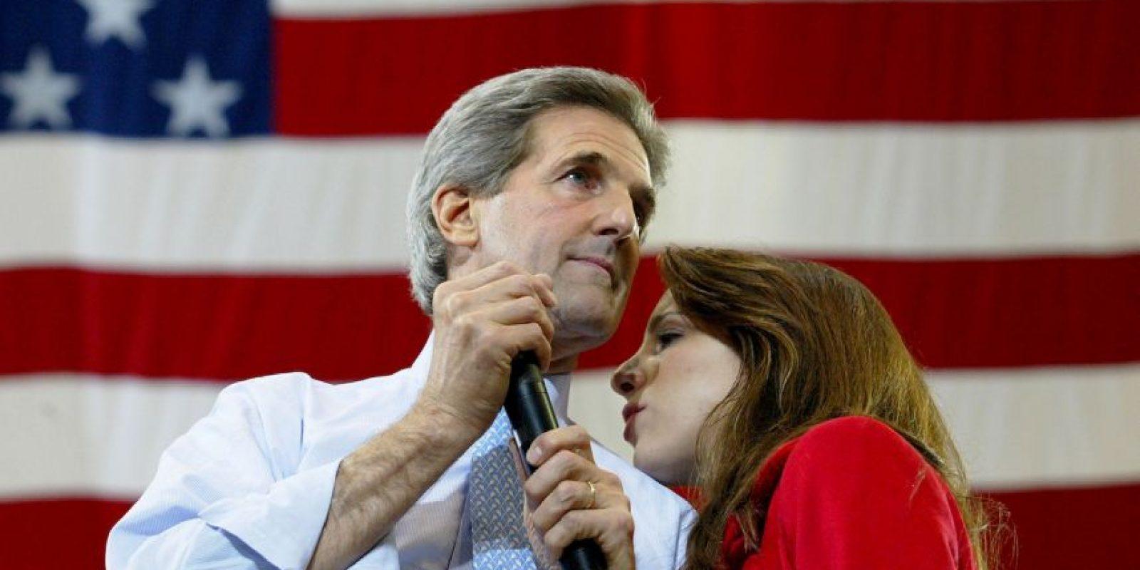 John Kerry y Alexandra Kerry Foto:Getty Images