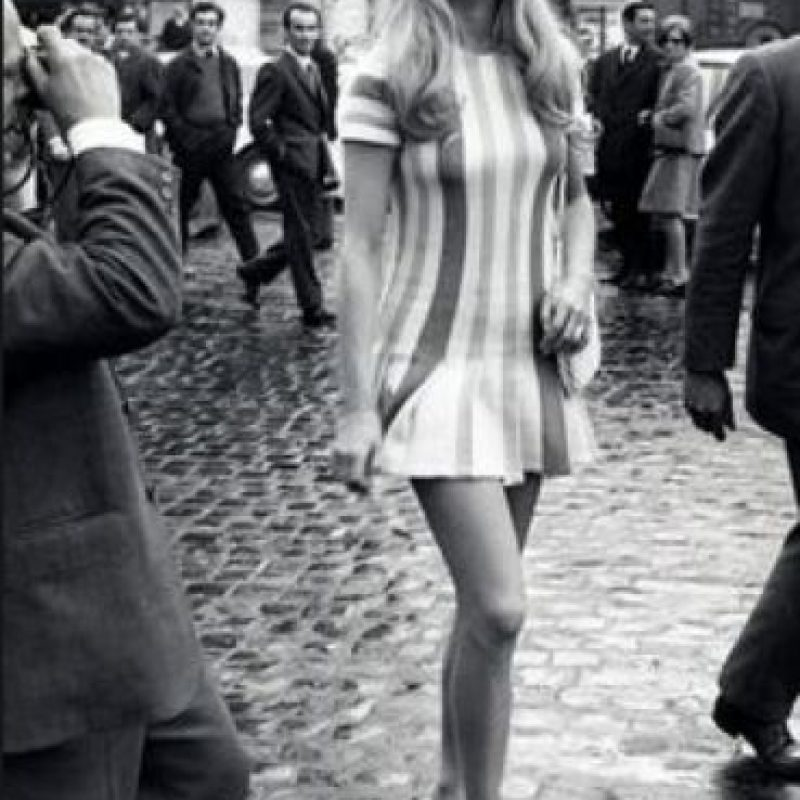 Brigitte Bardott, impulsora de la belleza europea y las minifaldas. Foto:vía Getty Images