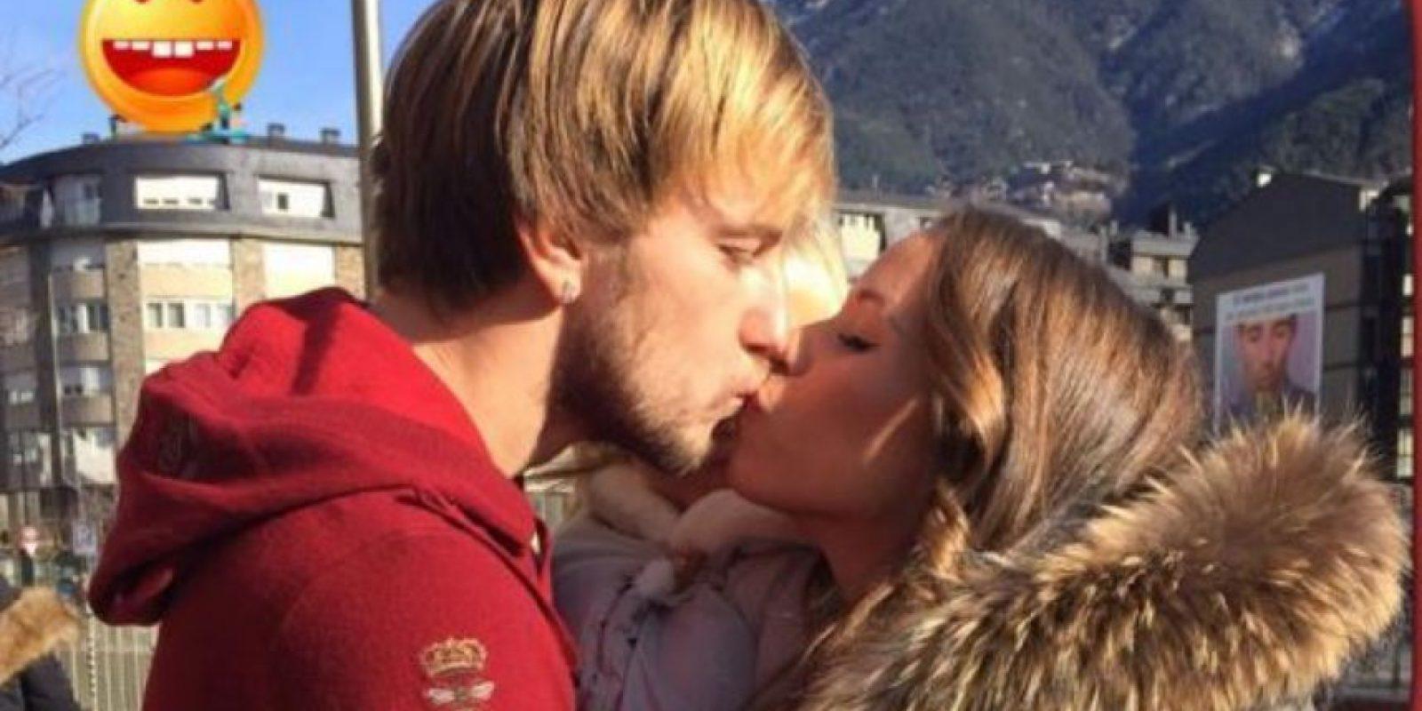 Ivan Rakitic (Barcelona) y Raquel Mauri Foto:Vía instagram.com/ivanrakitic/