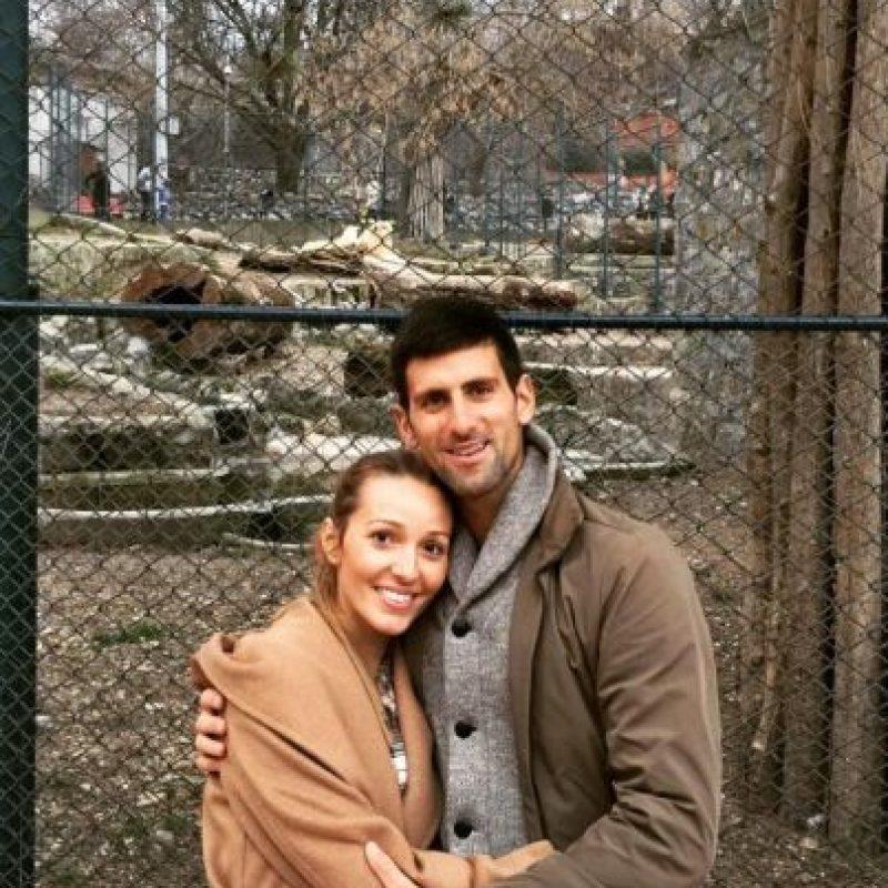 Novak Djokovic y Jelena Foto:Vía instagram.com/djokernole