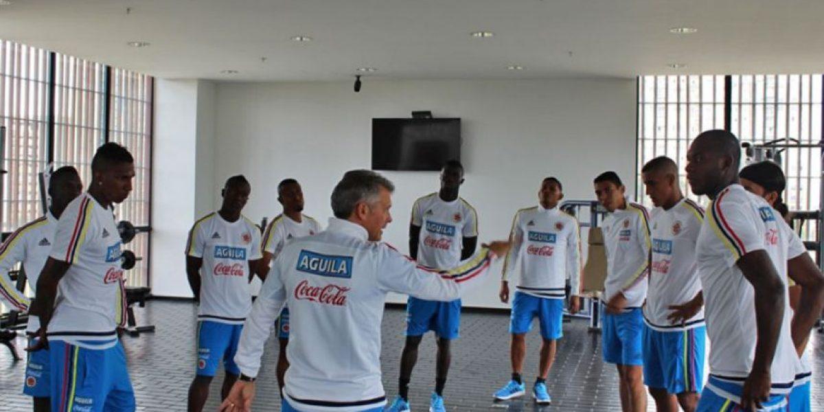 Déiver Machado no entrenó con la selección Colombia