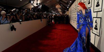Lady Gaga se llevó las palmas con su tributo a David Bowie Foto:Getty Images
