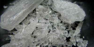 4. Metanfetamina Foto:Wikipedia Commons