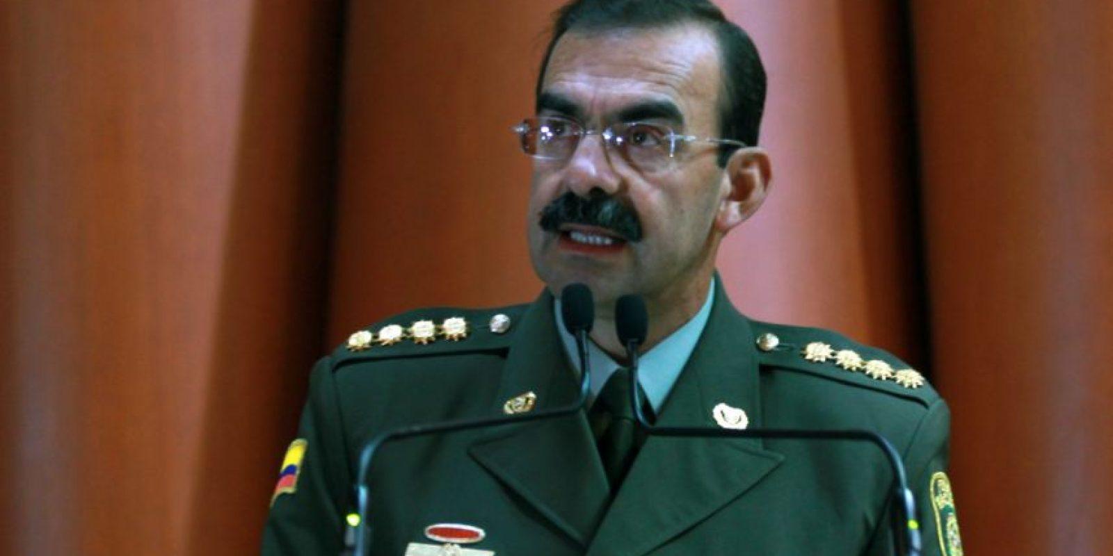 El General Rodolfo Palomino, quien hasta el 17 de febrero de 2016 fue Director de la Policía Nacional, será investigado por la supuesta red de prostitución homosexual que hay en la Institución denominada 'La Comunidad del Anillo'. Foto:Archivo EFE
