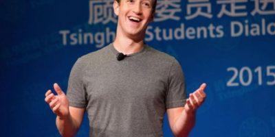 Mark en un evento en China en octubre de 2015. Foto:Getty Images