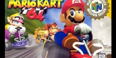 """""""Mario Kart 64"""" para N64 (1996). Foto:Nintendo"""