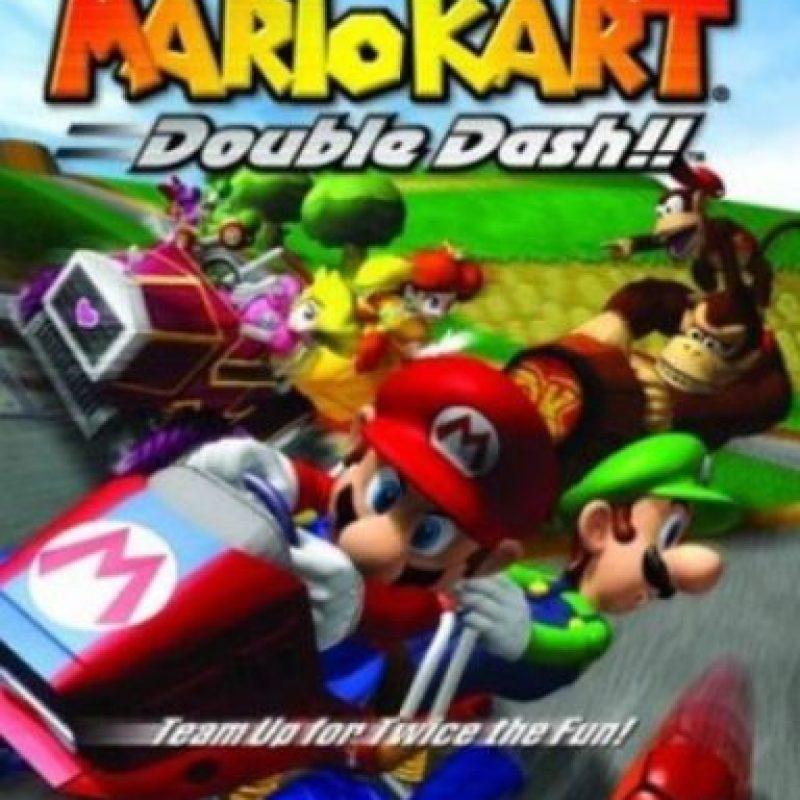 """Mario Kart: Double Dash!!"" para Game Cube (2003). Foto:Nintendo"