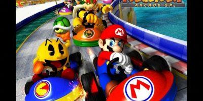 """""""Mario Kart Arcade GP"""" para Arcade (2005). Foto:Nintendo"""