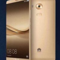 Huawei con el Huawei Mate 8. Foto:Huawei