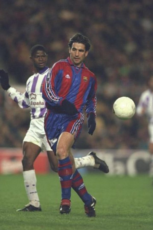 Formó parte del Barcelona de 1996 a 1998 Foto:Getty Images