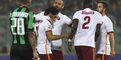 Roma solo registra una derrota en sus últimos 13 partidos Foto:Getty Images