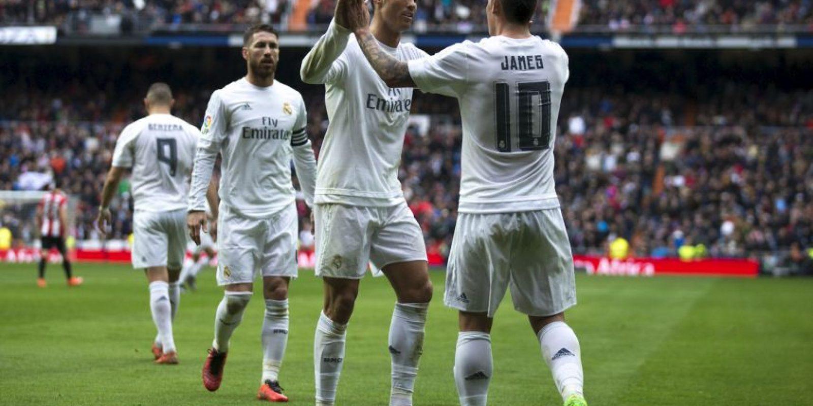 """""""Zizou"""" mandará a la cancha a todas sus estrellas encabezadas por Cristiano Ronaldo, Karim Benzema y James Rodríguez Foto:Getty Images"""