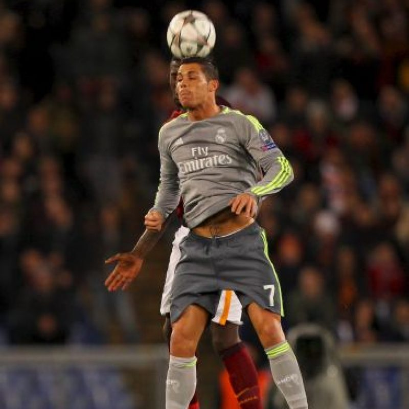 Cristiano Ronaldo marcó la primera diana de la eliminatoria Foto:Getty Images