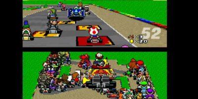 """Así es """"Mario Kart"""" con 101 jugadores al mismo tiempo. Foto:Vía Hat-Loving Gamer / Nintendo / YouTube"""