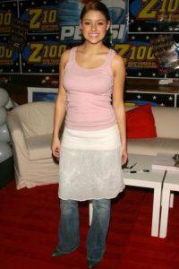 """9. La falda sobre el pantalón porque era """"cool"""". Foto:vía Getty Images"""