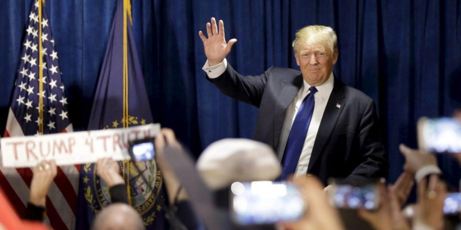 Días antes, Trump criticó al Papa por su visita a la frontera. Foto:AP