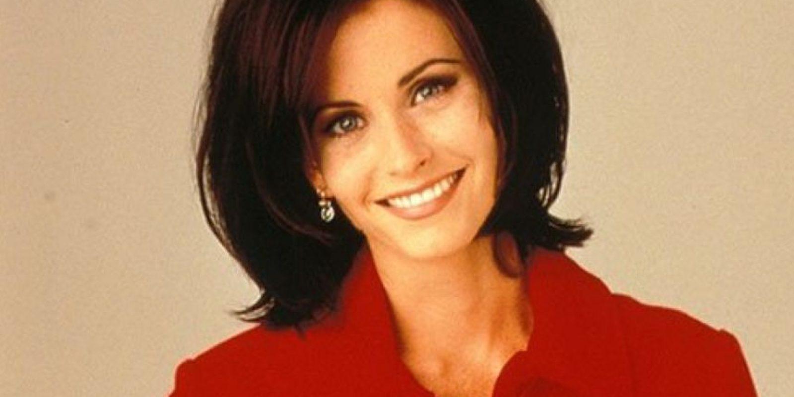 """Courteney Cox era """"Mónica"""". Foto:vía NBC"""