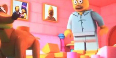 """""""Los Simpson"""" en su versión """"Lego"""" Foto:YouTube/Jim Jam"""